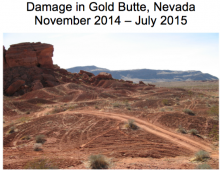 Damage at Gold Butte