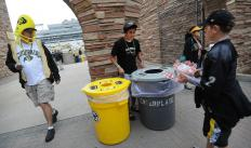 The University of Colorado Boulder's Athletic Department brings it on when it comes to eco-initiatives.