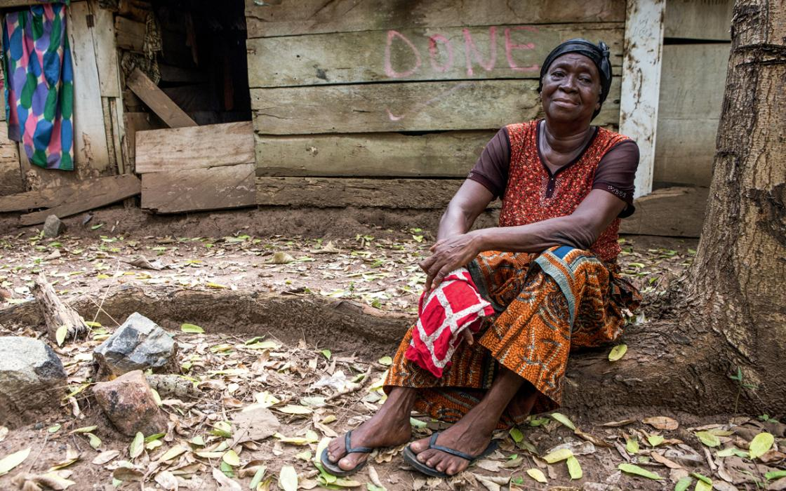 women in ghana battle a u s owned gold mine for land and livelihood