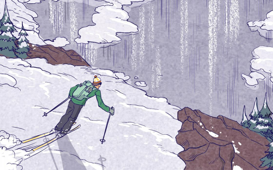 surviving a fall through the ice sierra club