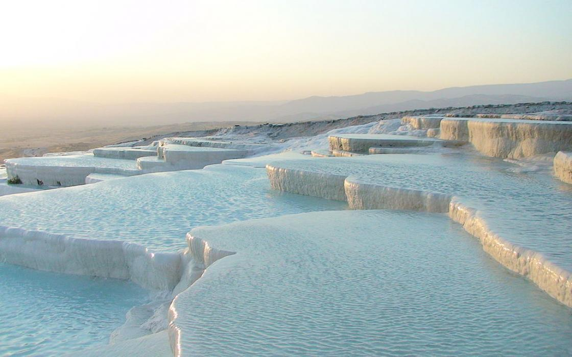 Travertine Pools, Turkey