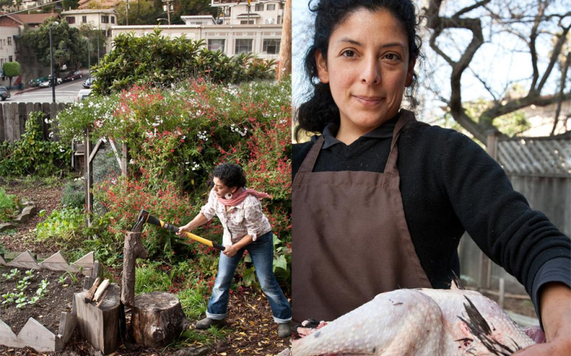Esperanza Pallana's grandparents, Mexican immigrants with a strong connection to the earth, were her inspiration to become an urban farmer.