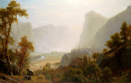 Hetch Hetchy, by Albert Bierstadt