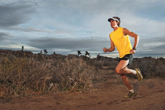 Vegan ultramarathoner Scott Jurek