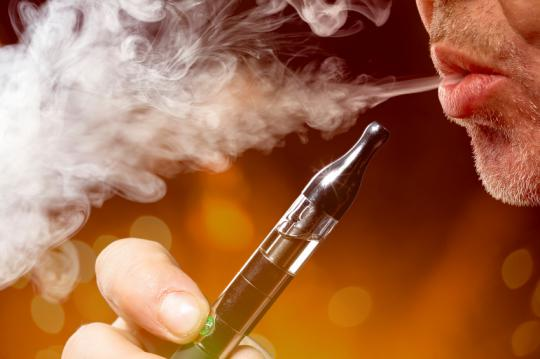 "Is secondhand vapor from electronic cigarettes dangerous, and is ""vaping"" really as safe to users as has been insinuated?"