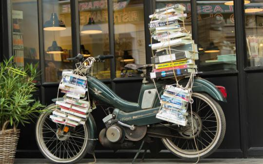 Books on bikes -- check out our list!