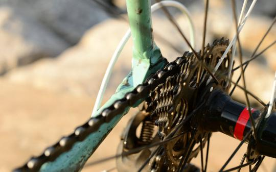 Green your bicycle with regular maintenance checks.