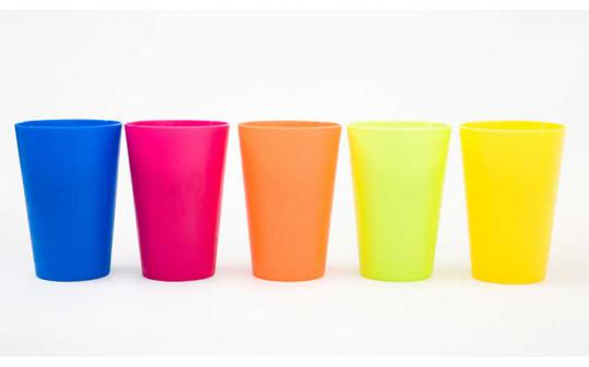 What about my plastic cups? Mr. Green has the answer.