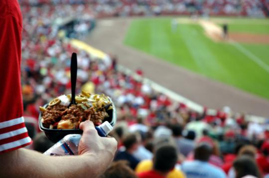 Worry not, sports-lovers: food like this might be a thing of the past.