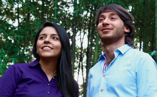 Lina Catano Bedoya and Andres Walker Uribe; Medellin, Colombia; Utopica co-founders