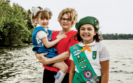 These scouts take their promise to be stewards of the earth seriously.