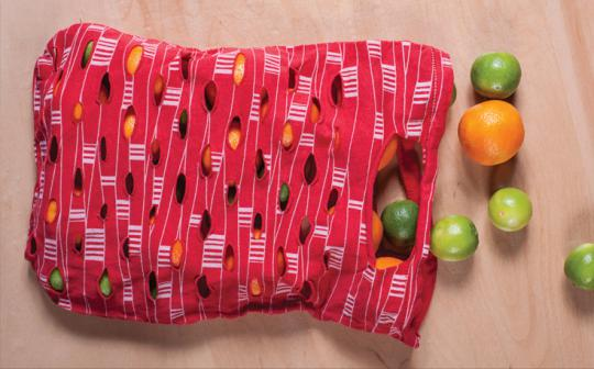 DIY T-shirt Produce Bag