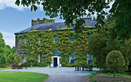 Collect eggs for breakfast, take a composting workshop in the garden,  and learn to make butter at an Irish inn and cookery