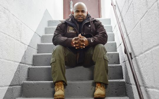 Lawrence Harris, Senior Team Leader, Green City Force, Brooklyn, New York
