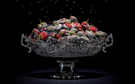 """One of a series of still lifes in photographer Klaus Pichler's """"One Third"""" project, which draws attention to the U.N. Food and Agriculture Organization's estimate that up to a third of the world's food is wasted."""