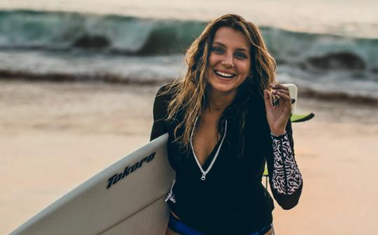 "The ""indestructible"" Brazilian and lifelong environmentalist pays homage to the borrowed board that launched her career."