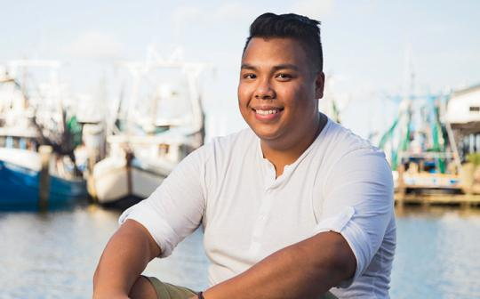 Tony Nguyen, in Biloxi, Mississippi, became an environmental activist after the 2010 BP oil spill and later helped train activists in Vietnam.
