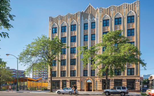 A redesign that preserves a landmark and provides needed homes in Chicago.