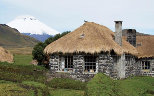 Homey Hacienda El Tambo was built on Incan foundations and offers outdoor activities in the Andes.