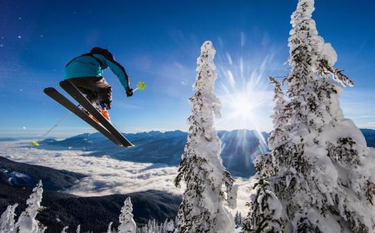 The scrappy young athletes who want to save snow...and the planet.