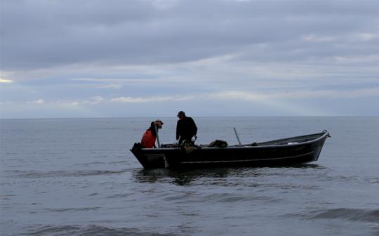 Fishermen rely on salmon that spawn in the Chuitna watershed