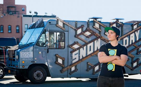 Jordyn Lexton operates a New York City food truck with youths just out of prison.