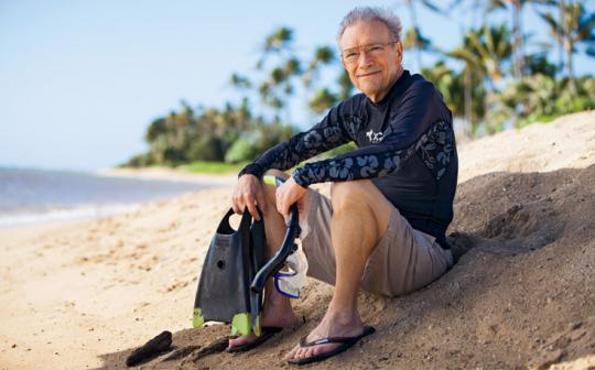Dave Raney is an ocean activist in Honolulu and a member of the Sierra Club's Marine Action Team.
