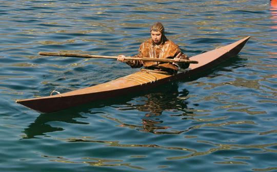 Does the original kayak still have a place in a melting Greenland?