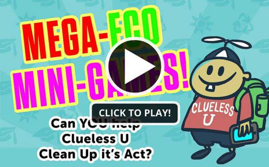 Can you help Clueless U clean up its act? Play to find out.