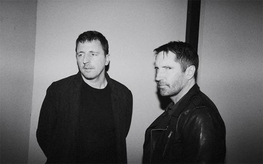 """Trent Reznor with """"Before the Flood"""" Composers"""
