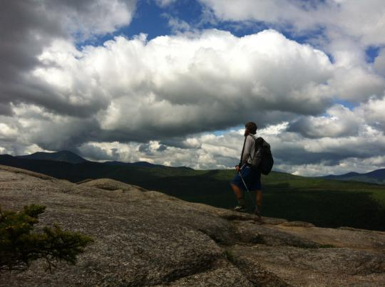 Sterling Coleman on Mount Washington