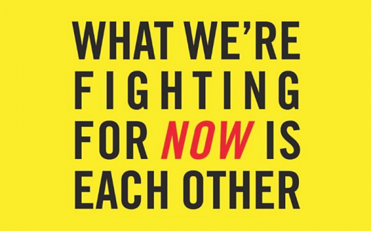 What We're Fighting for Now is Each Other: Dispatches From the Front Lines of Climate Justice, by Wen Stephenson,  Beacon Press (October, 2015)