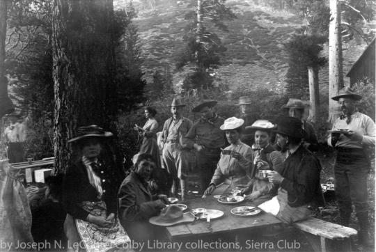 Hungry Sierrans, Mineral King Valley, 1903. By Joseph N. LeConte.