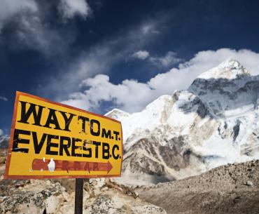 Mount Everest is the highest mountain in the world.