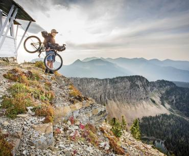 Fire Lookout Biking in Montana