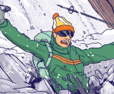 Tips for what to do if you fall through ice.