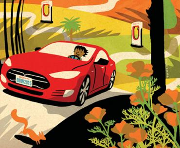 Now that electric cars can go just as far as  Gasoline-powered models, the map opens up
