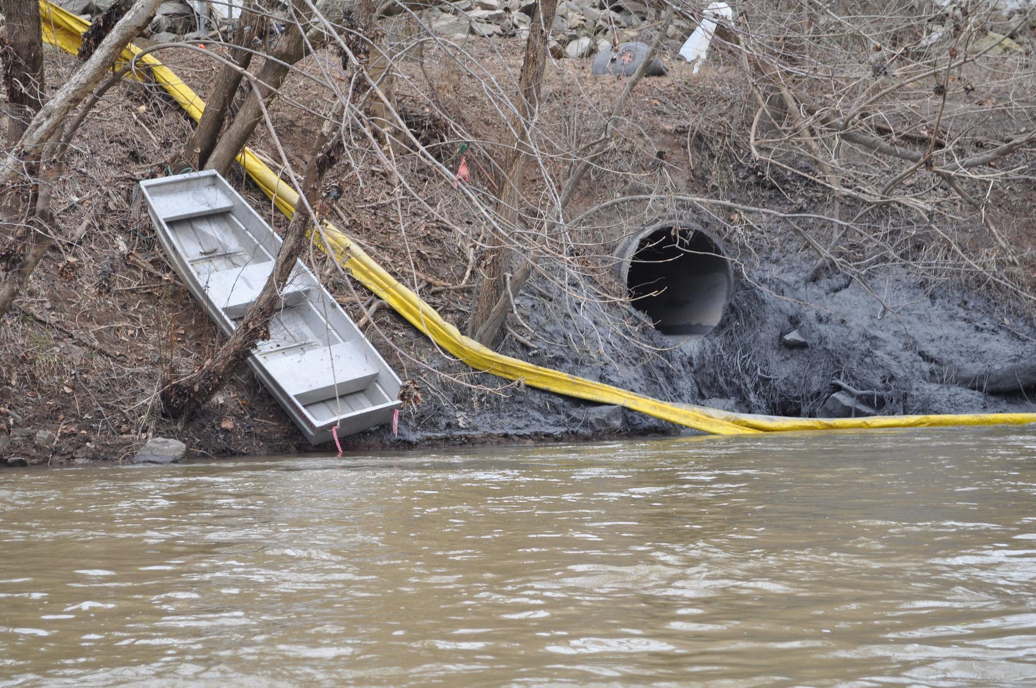 Dan River coal ash spill - Appalachian Voices