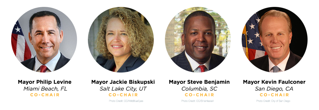 Mayors For 100 Percent Clean Energy - Co-Chairs