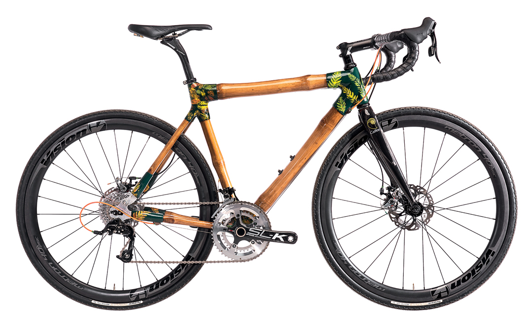 Bamboo Adventure Bike frames
