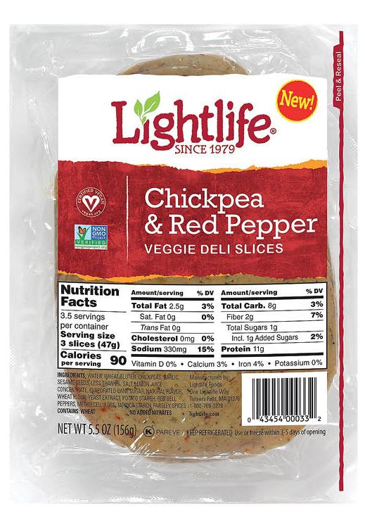 Lightlife deli slices