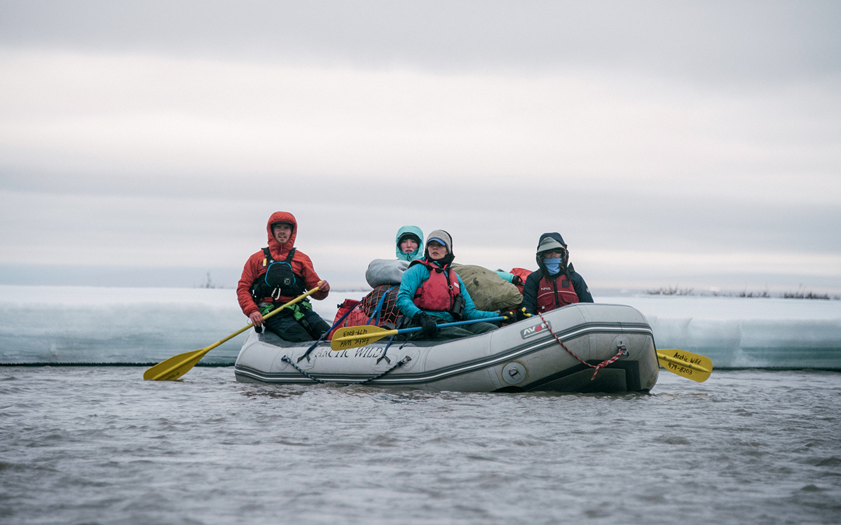 6a0ec5517f The group floated the Hulahula from the Brooks Range to the Beaufort Sea.