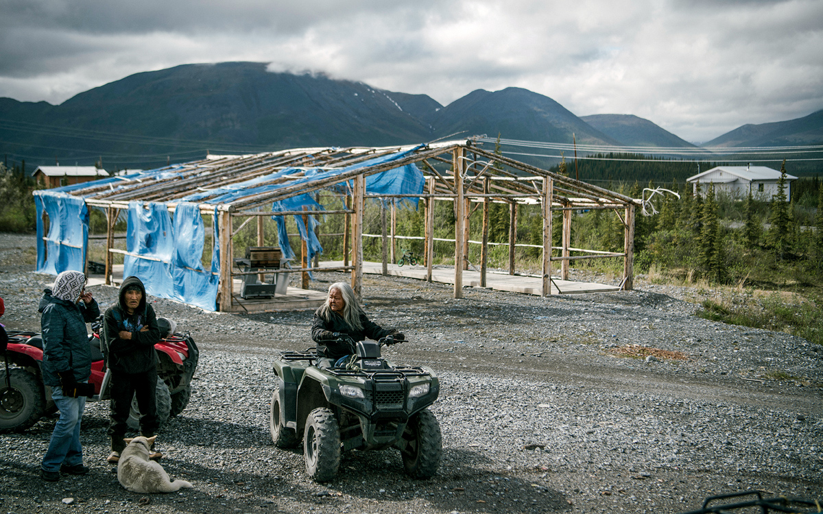 00d9f81e16 The Gwich'in residents of Arctic Village have led the fight against oil  drilling in