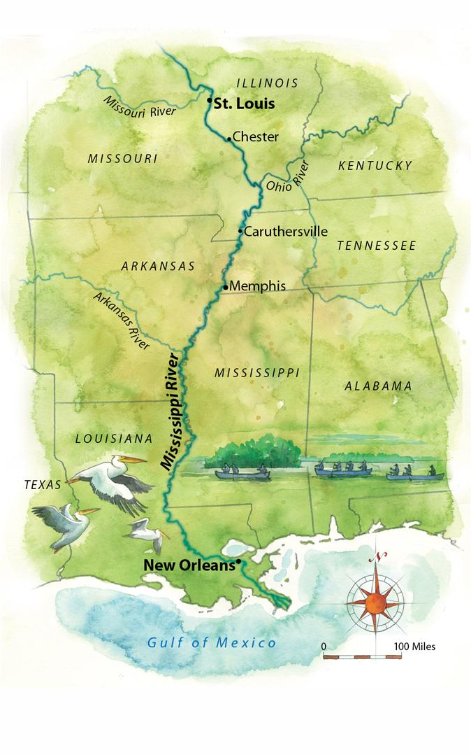 Paddling the Lower Mississippi Ain't a Huck Finn Journey