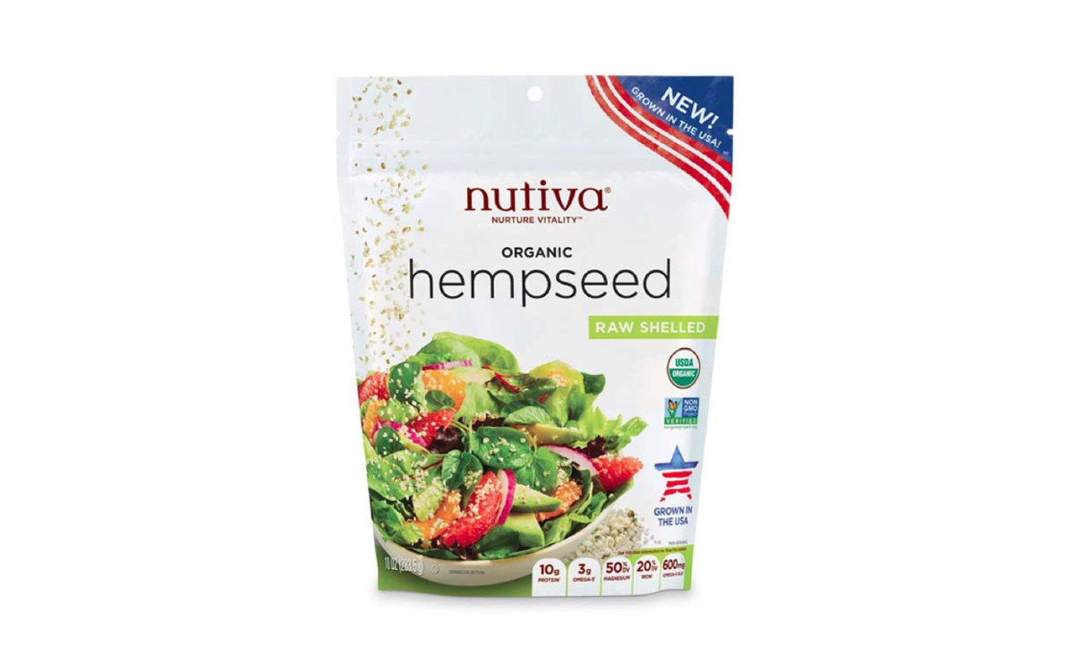 Nutiva organic raw-shelled hempseed