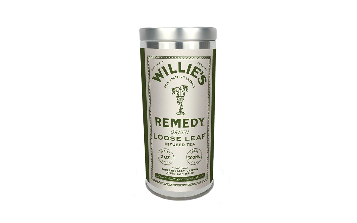 Willie's Remedy Loose Leaf teas