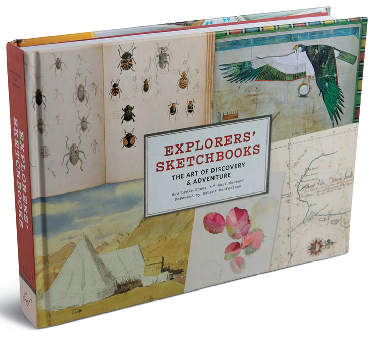 xplorers' Sketchbooks: The Art of Discovery & Adventure (Thames and Hudson Ltd.)