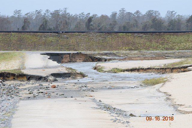 Photo by Cape Fear Riverkeeper at the L.V. Sutton Power Station outside Wilmington, N.C.
