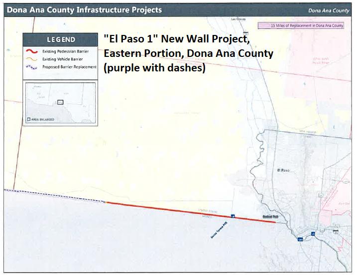 Map Of Yuma Arizona And Surrounding Area.April 24 2019 Trump Waivers In Az Nm Sierra Club