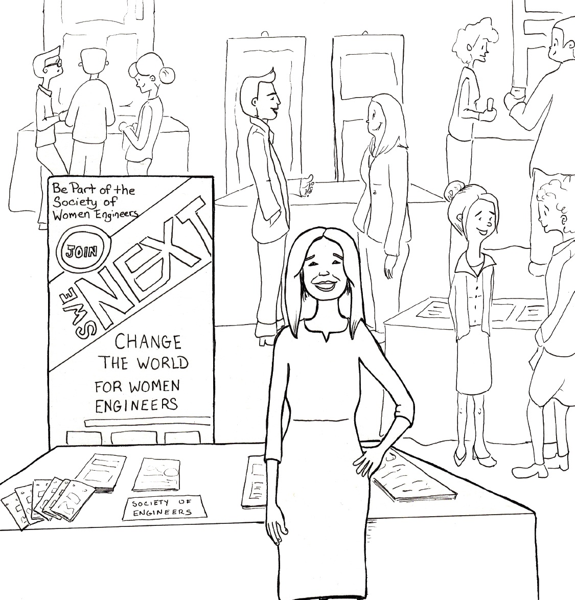 women are underrepresented in science  can a coloring book